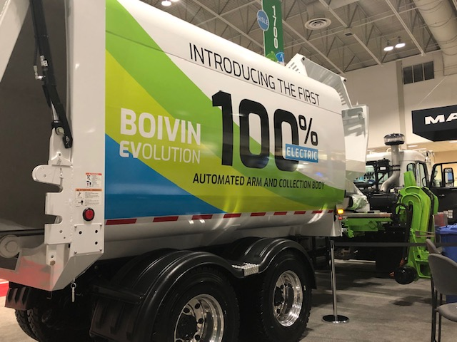 Boivin electric collection waste and recycling expo